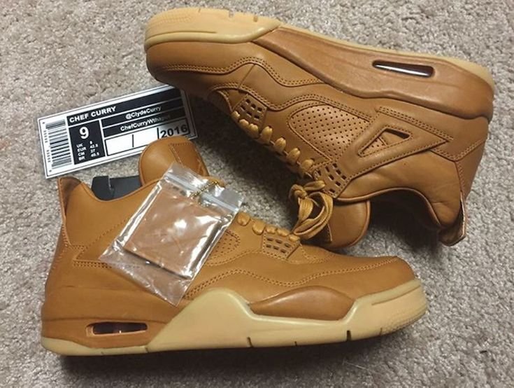 Get A First Look At The Air Jordan 4 Wheat