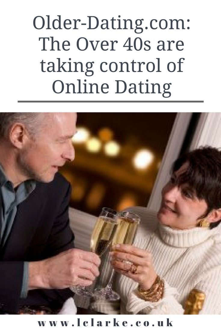 Older-Dating.com: The over 40s are taking control of online dating