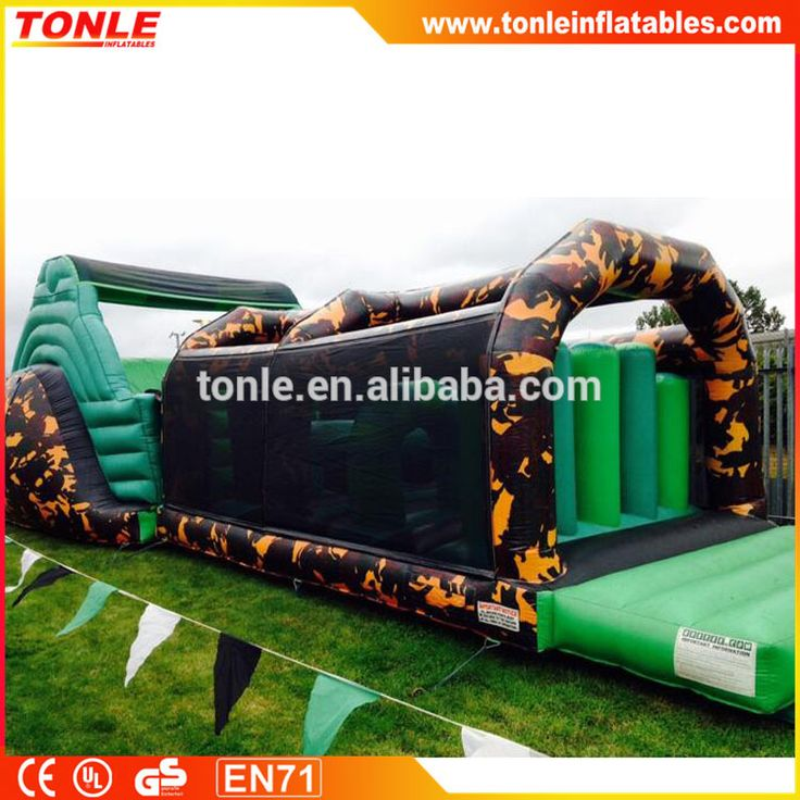 """""""Commercial Inflatable Army Assault Course, inflatable sport games for fun"""""""