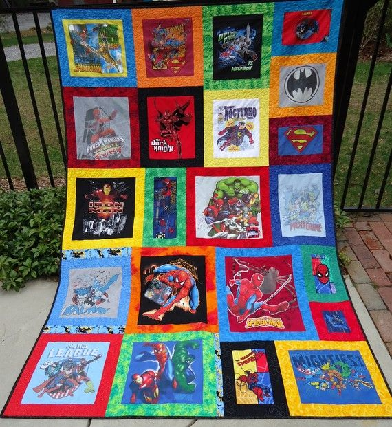 73 best Super hero quilts images on Pinterest | Fabric, Boat and Comic : superhero quilts - Adamdwight.com