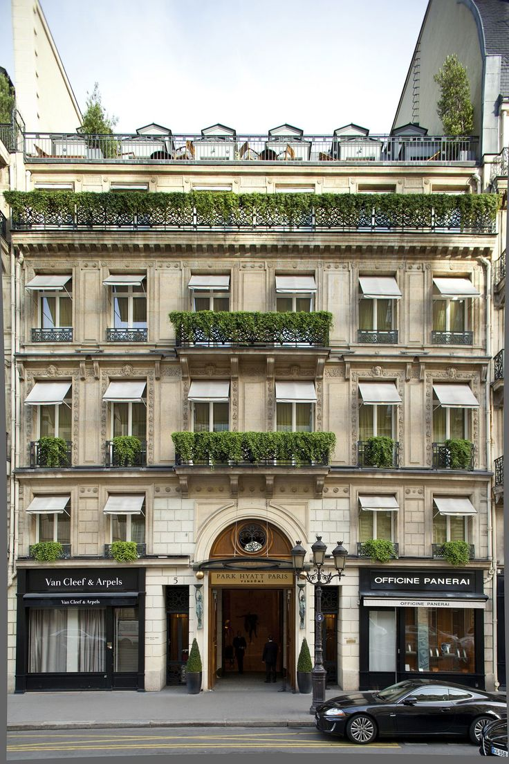 Park Hyatt in Paris, one of the best hotel of the world. For more news, visit luxurysafes.me/blog/