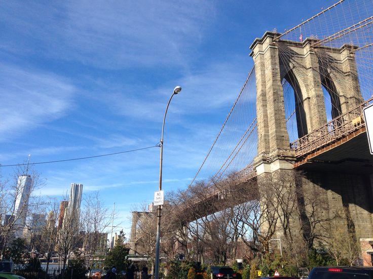#sky #nyc #brooklynbridge