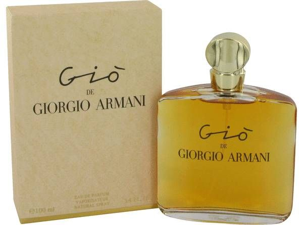Magic in a bottle!! Gio Perfume by Giorgio Armani