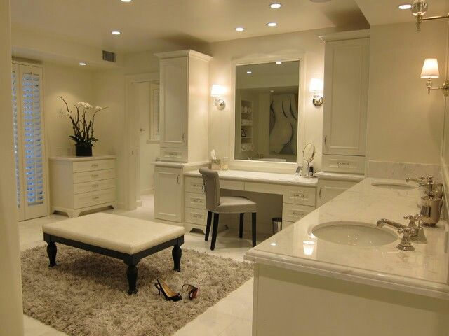 Simple Bathroom Makeup Vanity Ideas Table Inside Design