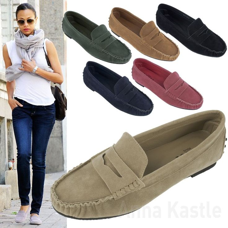 Penny Loafers women outfit clothes scarf shoes
