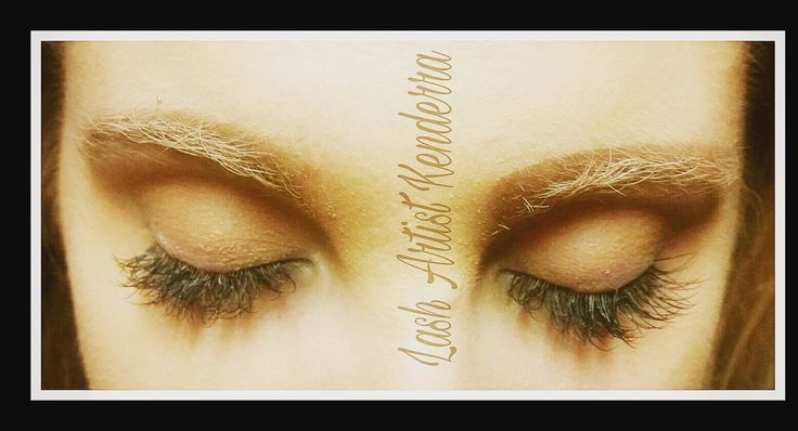 Silk eyelash extensions