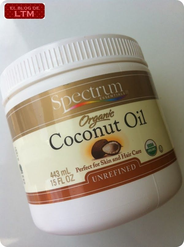 aceite de coco Spectrum iHerb