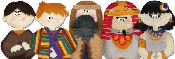 Joseph and the Coat of Many Colors Sneak Peek {Felt Story Set}