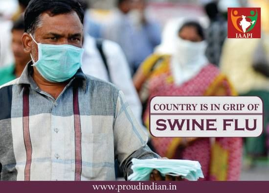 Country is in grip of swine flu with 810 succumbing to death of swine flu this year. What else are we waiting for? Open your eyes to the...
