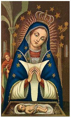 Nuestra Señora de la Altagracia o Virgen de la Altagracia es una advocación mariana católica considerada como la «madre protectora y espiritual del pueblo dominicano» Festividad: 6 de Enero.