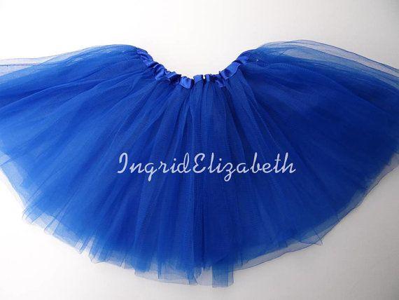 Bleu royal Tutu jupe Tutu de Ballet avec boucle par IngridElizabeth