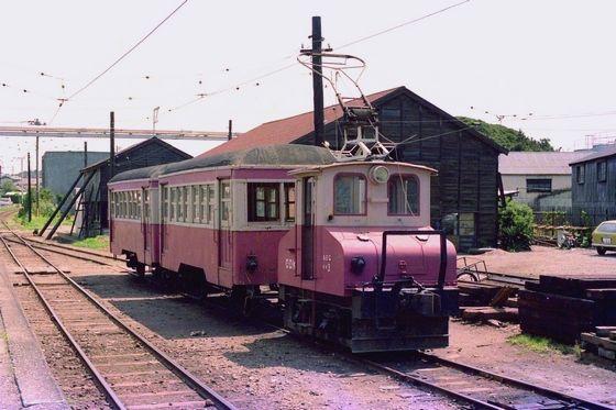 銚子電気鉄道 デキ3