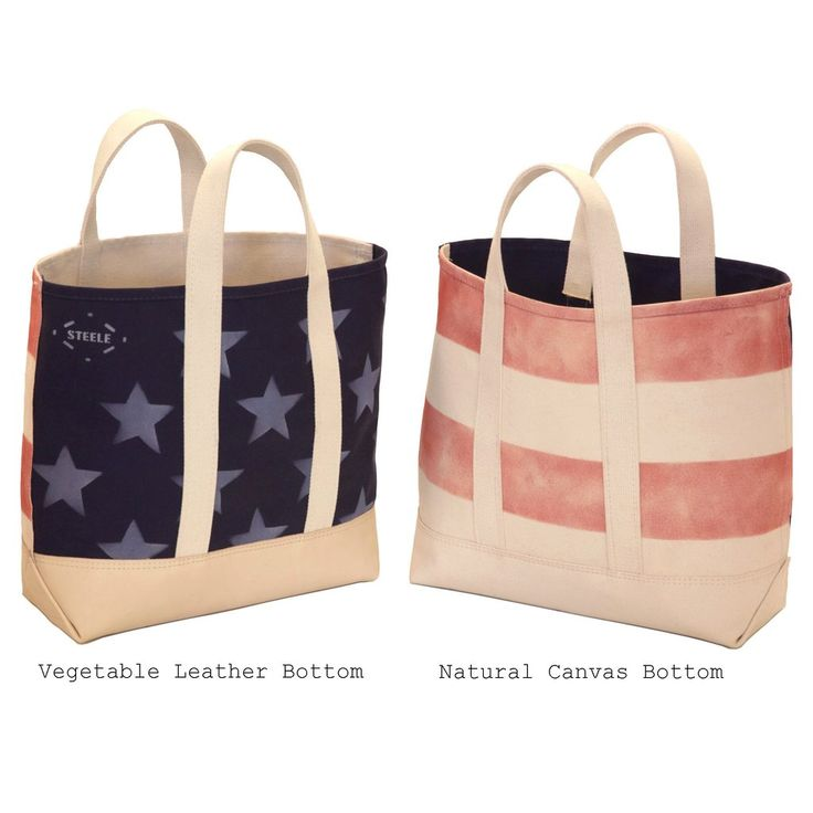 Foldaway Tote - Stars & Stripes by VIDA VIDA
