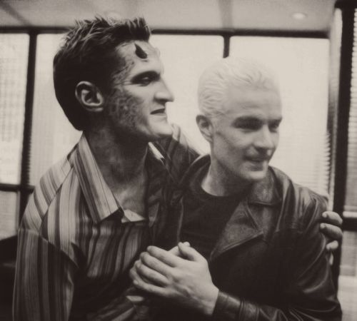 Lorne and Spike... ahh 2 of my faves <3