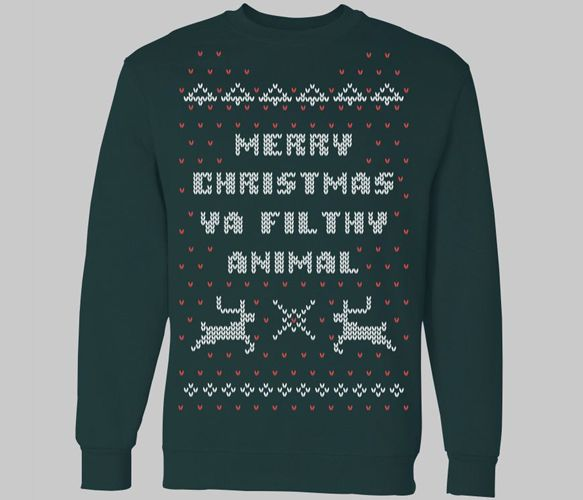 "Home Alone Christmas T-Shirt ""Merry Christmas ya filthy animal"" by Chitown Clothing"