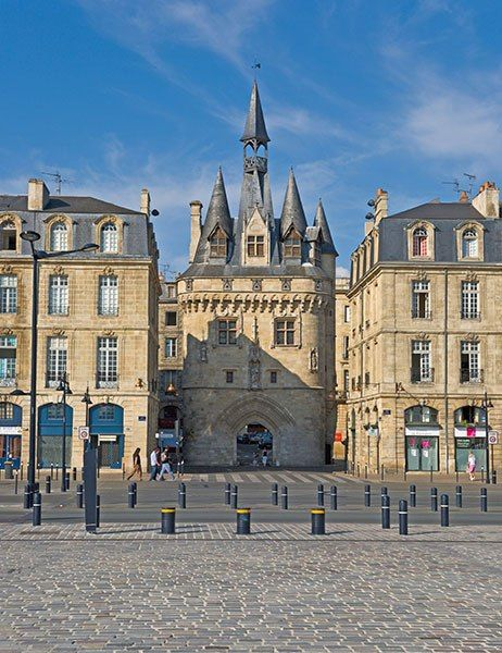 The only other medieval gate spared, besides Grosse Cloche, when Bordeaux was…