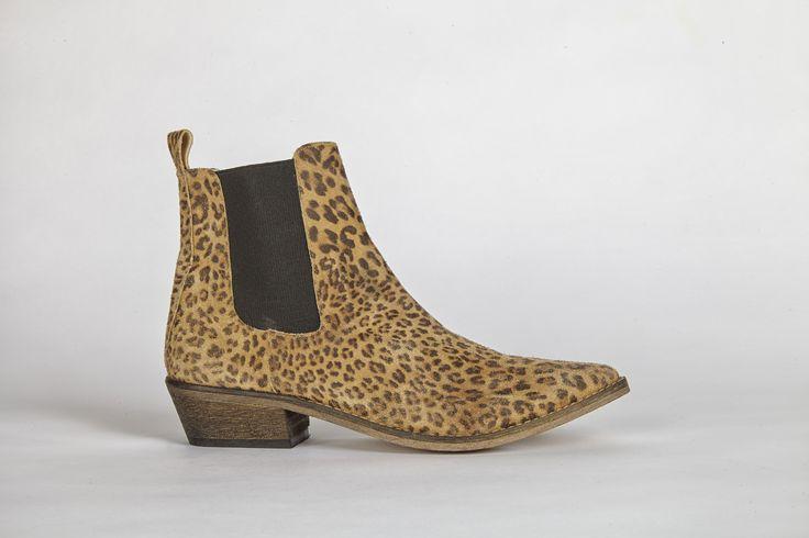 Stella Leopard Beige
