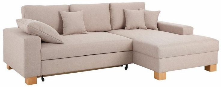 Home affaire Ecksofa, wahlweise mit Bettfunktion