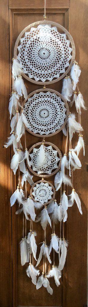4 Tier Crochet Dreamcatcher