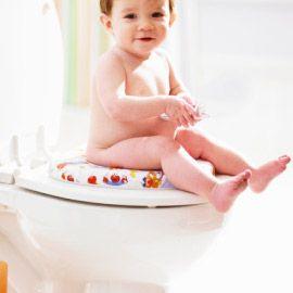 Eco-novice: Going Green Gradually: potty training early