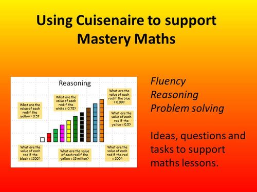 Using Cuisenaire to support Mastery Maths