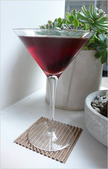 Rye Whiskey Manhattan - my drink of choice, and this version sounds particularly delicious