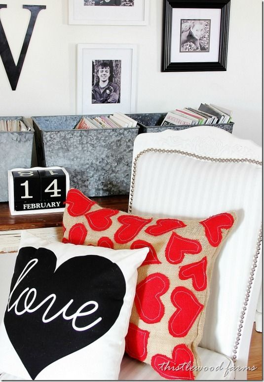 Valentine Pillow How-To