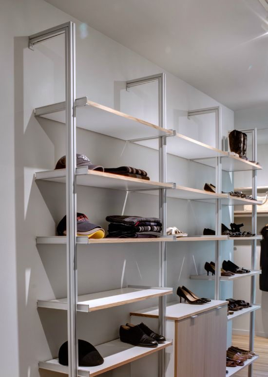 Architectsu0027 Favorite Closet Systems, Marcus DiPietro, Rakks, Remodelista    Rakks Pole Mounted