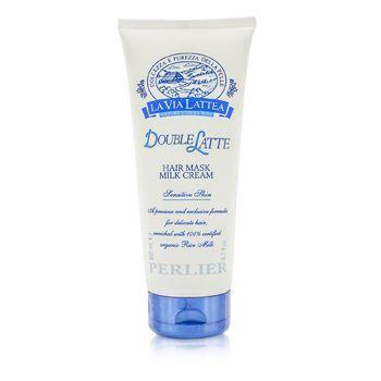 La Via Lattea Double Latte Hair Mask Milk Cream - Sensitive Skin (for Delicate Hair)