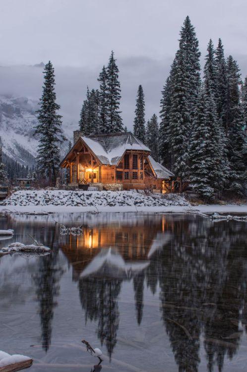 """finefools: """"Emerald Lake, Canada by Ian Keefe """""""