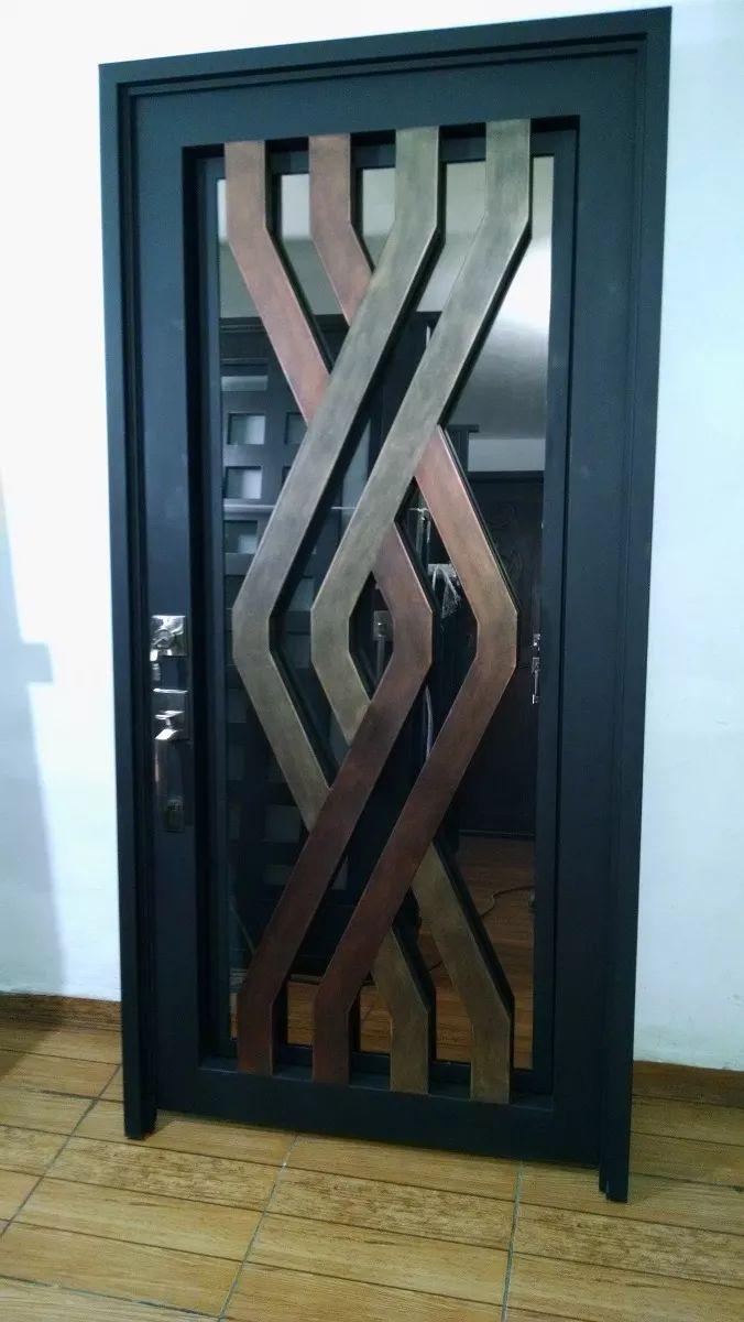 M s de 25 ideas incre bles sobre puertas metalicas for Diseno puerta principal