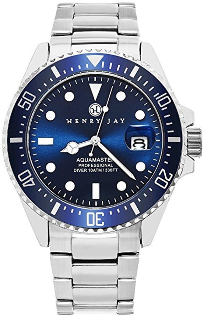 #HenryJay #Aquamaster #professional in acciaio 100 mt