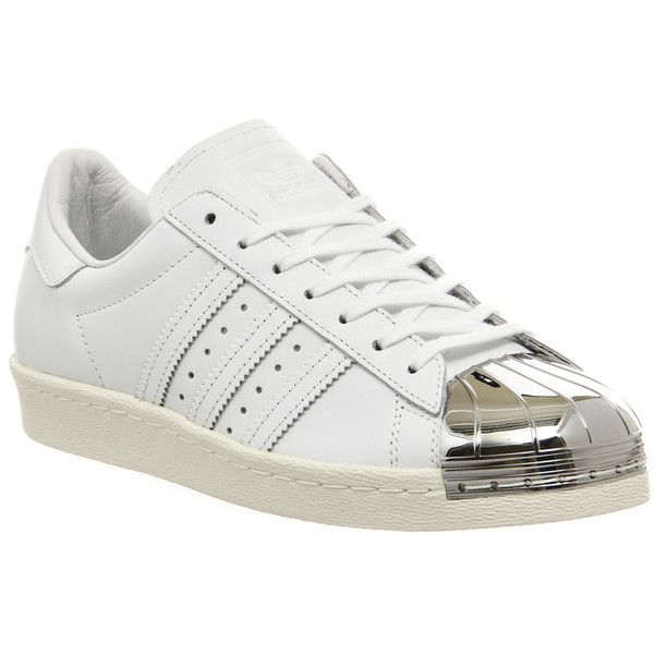 Outlet USA Rural Adidas Superstar 80s Metal Toe Floral Gold Trainers Close cut