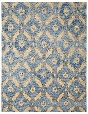 Maui Blue Tibetan Carpet At Portland Oregon S Kush Rugs Handmade