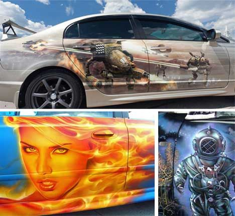 17 Best images about Airbrushed cars on Pinterest | Cars ...  17 Best images ...