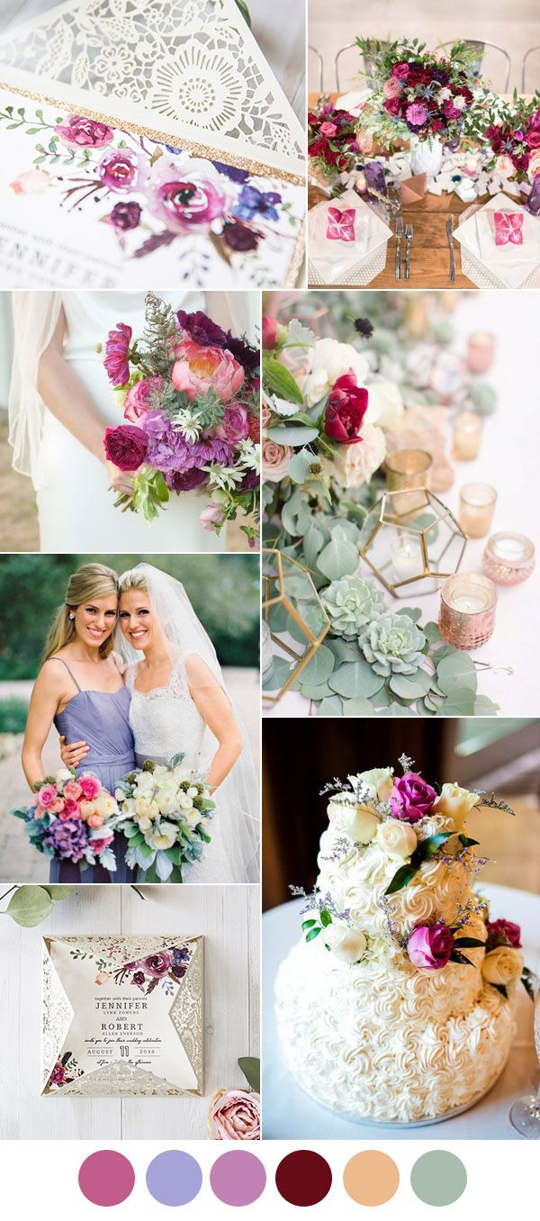 Ring In A Spicy Hot Palette Of Colors That Go With Orange: Best 25+ Purple Summer Wedding Ideas On Pinterest