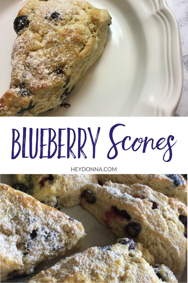 How do you make Blueberry Scones? Simple directions on how to make my favorite blueberry scones. The perfect recipe for your next brunch.