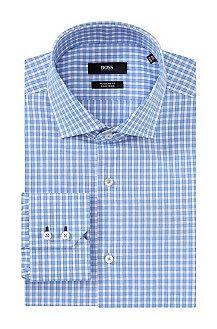 Regular-fit business shirt 'Gorman' with extra-long sleeves, Light Blue