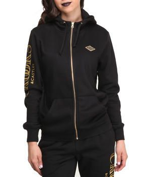 Buy Ballin' Mane Knit Zip Hoodie Women's Hoodies from Crooks & Castles. Find Crooks & Castles fashions & more at DrJays.com