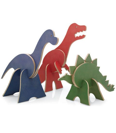 dinosaur 3-d puzzles - Chasing Fireflies