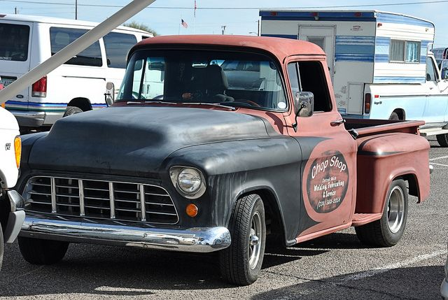 1956 chevy pickup | 1956 Chevy Truck | Flickr - Photo Sharing!