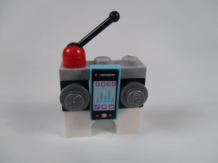 LEGO big black radio