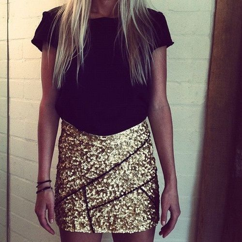 Love the glitter skirt!                                                       …