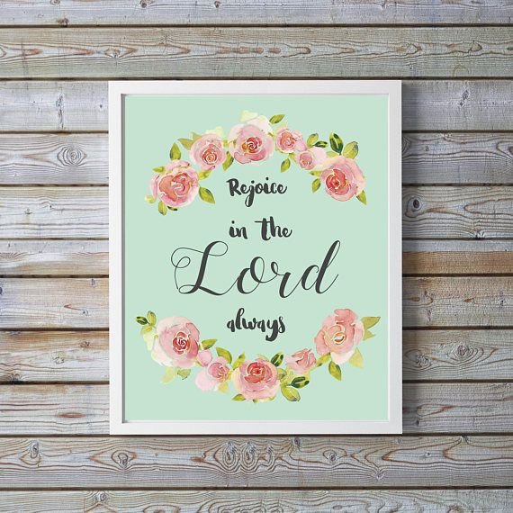 Baptism Gift for Goddaughter, Philippians 4, Gifts for one year old girl, Wall Decor for Nursery Girl, Decor for Girls Room, Christian Art