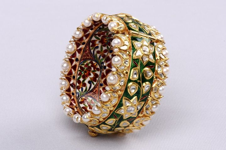 Bespoke Vintage Jewels by Shweta & Nitesh Gupta   Vogue Wedding India