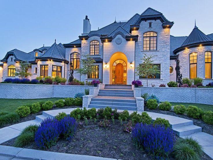 Orem utah castles and mansions pinterest gardens for Utah house