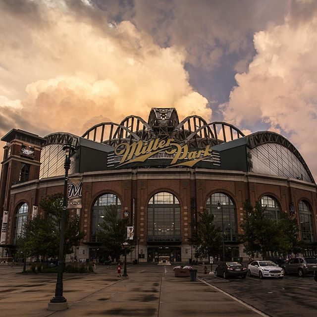 "Thanks to YOU, #MillerPark has made @time's list of the ""Top 50 Instagrammed Places in America""! #Brewers"