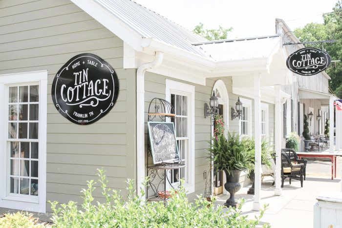 BEST of Franklin, Tennessee | Tin Cottage | Franklin, Tennessee