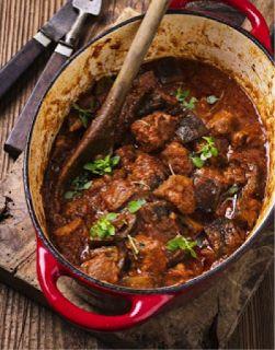 Monash University Low FODMAP Diet: Slow-cooked low-FODMAP Lamb Casserole
