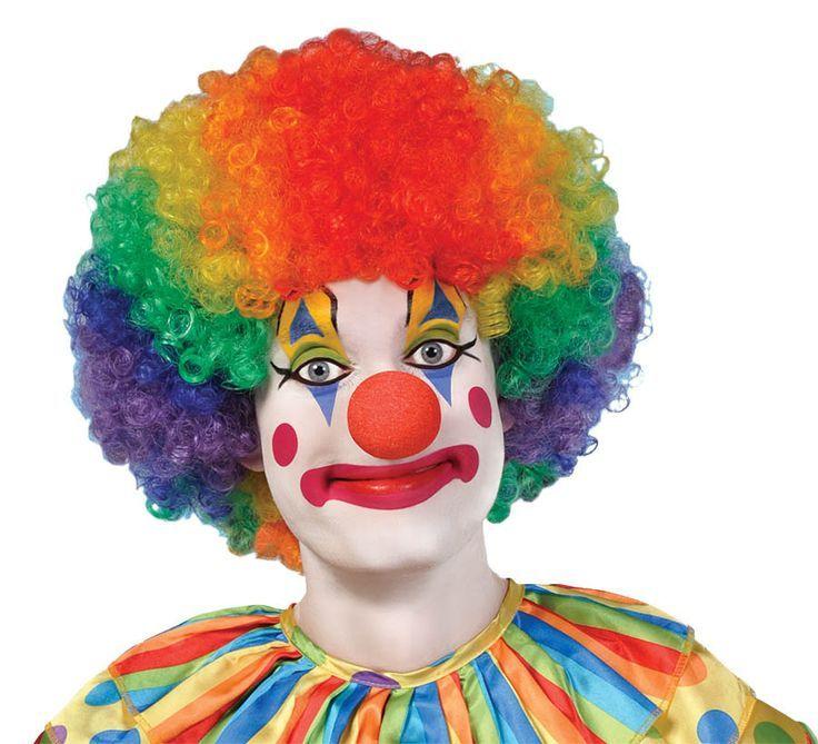 Traditional Clown Makeup Halloween